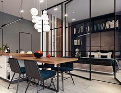 Hace poco más de una semana les mostré un pequeño departamento diseñado por los rusos Int2 Architecture. Desde que los descubrí, no he dejado de asombrarme con su capacidad para crear espacios hermosos, con una estética muy moderna y de inspiración escandinava, en donde cada rincón es aprovechado al máximo. Pues bien, llegó el momento de compartir otro de sus proyectos, una casa de 105 m2 que igual que aquel departamento, me tiene enamorada por todos sus detalles creativos. Cada uno de sus…