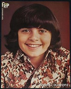 1970s teen idols | ... -DeFranco-Nino-Benny-Teen-Idols-2-PINUPs-Osmonds-on-back-1970s-70-451