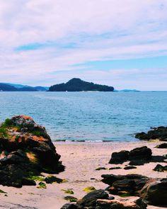 Caribbean Blue o tardes en el mar que te recuerdan a los paseos por las Indias Occidentales  #vscocam #vsco #megustazenfone #pontevedra #galicia