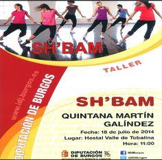 18/7 Taller de Sh´bam. Quintana Martin Galindez 11h Hostal Valle de Tobalina