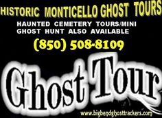"""Learn why Monticello is called the south's """"most haunted small town"""" on a famous Ghost Tour."""