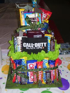 Halo Birthday Cake For Sale
