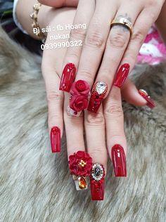 3d Nails, Nail Manicure, Swag Nails, Diamond Nail Art, Angel Nails, Classy Nails, Flower Nails, Nail Arts, Wedding Nails