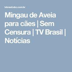Mingau de Aveia para cães | Sem Censura | TV Brasil | Notícias