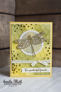 AEstamps a Latte...: Stampin' Up! Golden Dragonfly Dreams
