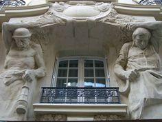 199-201 rue de Charenton, Paris XIIe - Architecte Raoul Brandon by Yvette Gauthier, via Flickr