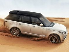 2013 Range Rover with black top and light body. I love the contrast of the two.