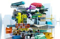mvrdv vertical village - Google Search