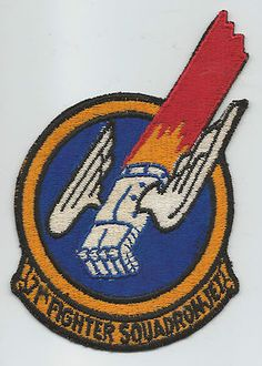 1950s 71st FIGHTER SQUADRON(JET) patch