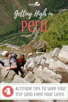 Hiking Machu Picchu in Peru. Travel in South America.