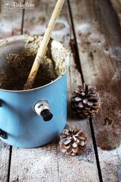 Behyflora - food lifestyle photography: poppyseed and marzipan custard