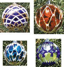 Christmas Ornament Covers by Rita Sova