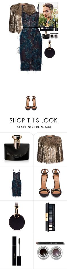 """Party"" by eliza-redkina ❤ liked on Polyvore featuring Bulgari, Salvatore Ferragamo, Notte by Marchesa, Givenchy, Tara Zadeh, John Lewis, Gucci, Bobbi Brown Cosmetics, PartyWear and outfit"