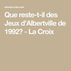 Que reste-t-il des Jeux d'Albertville de 1992? - La Croix