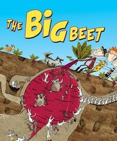 Book review of The Big Beet- an Australian take on The Enormous Turnip.