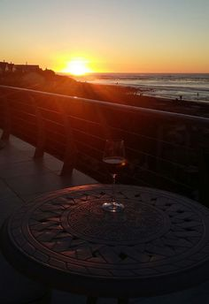 Long Beach boasts perfect weather for sundowners tonight. Join us for a magical Atlantic Coast sunset this winter. Wine complimentary. #winter #sunsets #kommetjie.Photo by Fanie Witbooi.