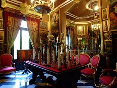 Museo Cerralbo. Salón de Columnitas