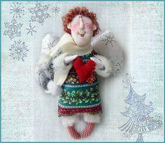Рождественский ангел. Куклы Ольги Турченко