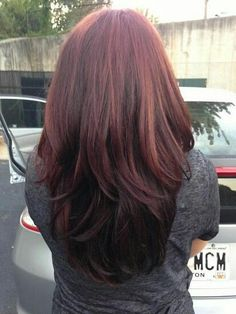 Very dark red with a slight violet tone