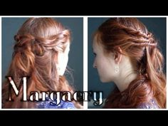 Game of Thrones Hair - Margaery Tyrell. Some simple twisted curls worn by everyone's favorite rose child.