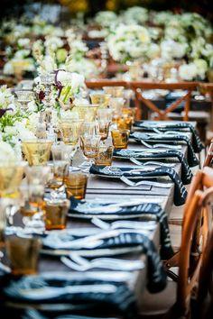 An Outdoor Wedding With Modern Elegance