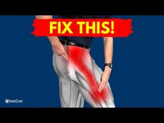 How to Get Rid of IT Band Syndrome for Good - YouTube It Band Stretches, Low Back Stretches, It Band Syndrome, Health Fitness, Youtube, Spine Care, Exercises, Yoga