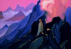 Mohammed the Prophet - Nicholas Roerich - WikiArt.org