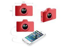 fashion new design camera shape power bank| Buyerparty Inc.