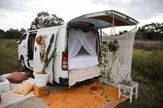 Spell Festival Van Set Up (Festival Camping Hacks) Camping Snacks, Van Camping, Camping Ideas, Outdoor Camping, Backyard Camping, Minivan, Van Curtains, Europa Tour, Van Home