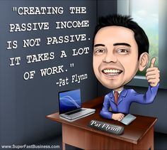 Pat Flynn from Smart Passive Income and James Schramko... Truth on how it takes a Lot of Work...