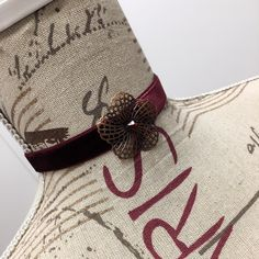 Burlap, Chokers, Reusable Tote Bags, Handmade, Fashion, Moda, Hand Made, Hessian Fabric, Fashion Styles