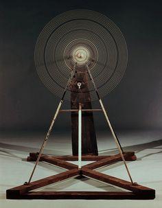 """Rotary Glass Plates (Precision Optics)"", 1920  By: MARCEL DUCHAMP"