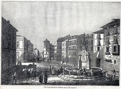 Antique print :Calle Mayor (Madrid) Spain / grabado 1836    eBay