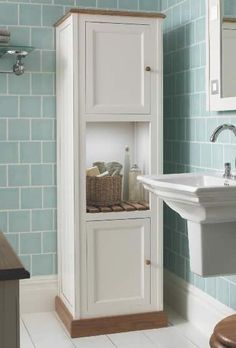 Imperial North Shore Tall Bathroom Unit. Buy Bathroom Cabinets from UK Bathrooms
