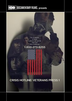 Today, more military members are lost to suicide than on the battlefield. After serving their country overseas, many veterans in their darkest moments turn to the unique services of the Veterans Crisis Line to help with traumas like post-traumatic stress, depression, homelessness and drug dependence.  40 min.  http://ccsp.ent.sirsi.net/client/en_US/hppl/search/results?qu=crisis+hotline+press&te=&lm=HPLIBRARY&dt=list
