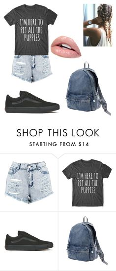 """""""Casual Hangout"""" by siri12345 ❤ liked on Polyvore featuring Boohoo, Vans, Issey Miyake and casualoutfit"""