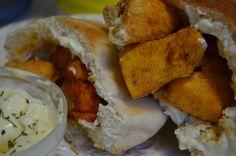 Saffron Road's #halal Tandoori Chicken Nuggets are great in pocket pitas. www.saffronroadfood.com