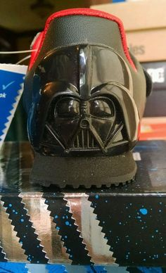 adidas #starwars darth vader toddler shoes; new! size 7  from $15.0