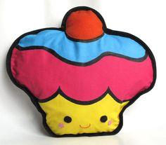 almofada cupcake colorido 2 R$55.00