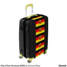 Flag of East Germany (DDR) Luggage