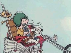 Easy Ridin' with Charlie Brown & Snoopy Sally Brown, Peanuts Cartoon, Peanuts Snoopy, Charlie Brown Y Snoopy, Snoopy Quotes, Joe Cool, Film D'animation, Rat Fink, Anos 60