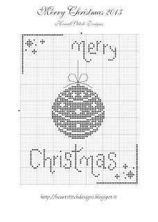 Merry Christmas x-stitch with ornament Cross Stitch Christmas Ornaments, Xmas Cross Stitch, Cross Stitch Love, Christmas Embroidery, Christmas Cross, Cross Stitch Designs, Cross Stitch Patterns, Merry Christmas, Blackwork Cross Stitch