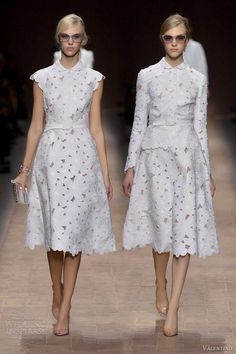 valentino spring 2013 ready to wear short white dresses -- Valentino Spring/Summer 2013 Ready-to-Wear Day Dresses, Blue Dresses, Prom Dresses, Summer Dresses, Wedding Dresses, Pageant Gowns, Dresses 2013, Dresses Online, Couture Fashion