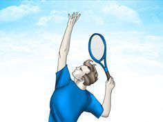 How to Improve a Tennis Serve. Have you ever gotten mad at yourself during a match because your serve simply would just not go in? Well there are probably some small mistakes with your form and your serving technique, but we can fix that. Tennis Rules, Tennis Gear, Tennis Tips, Tennis Clothes, Golf Tips, Tennis Lessons, Nike Clothes, Tennis Techniques, How To Play Tennis