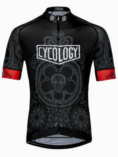 Day of the Living Men's Cycling Jersey from Cycology Clothing
