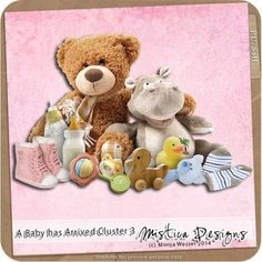 Digital Scrapbooking A Baby has Arrived Cluster 3 (PU/S4H) by Mistica Designs