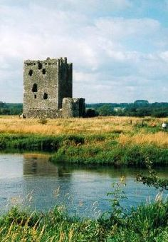 The great keep of Threave Castle, built in 1369 by Archibald the Grim.