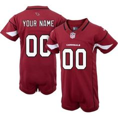 NFL Jersey's Nike Arizona Cardinals Infant Customized Game Team Color Jersey