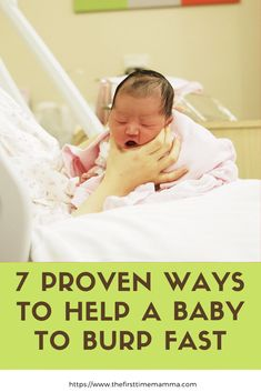 It is important for your baby to burp after breastfeeding or formula feeding. But most often than not, babies may not want to burp. Here are top 7 baby burping tips to help new moms burp baby fast. Check it out now! care tips newborns products Newborn Care, Burping Baby, Baby Care Tips, Baby Tips, Newborn Schedule, Get Baby, Baby Sleep, Baby Baby, Bebe
