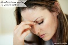 Desperate for migraine headache relief? Diane Stafford, co-author of 'Migraines for Dummies,' shares 11 ways to not treat a migraine. Migraine Home Remedies, Home Remedy For Headache, Oil For Headache, Natural Remedies For Migraines, Migraine Relief, Herbal Remedies, Health Remedies, Sinus Remedies, Migraine Pain